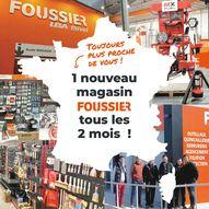 carte développement magasins Foussier