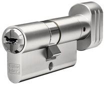 Cylindre européen haute sûreté N-Tra Nickelé varié standard
