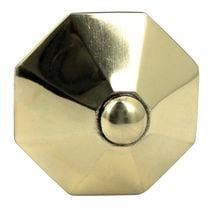 Bouton centre de porte diamant