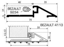 Profil seuil aluminium 4113