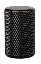 Bouton GRAF 0109 aluminium Anodisé noir mat