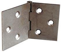 Charnière de table acier brut simple feuille