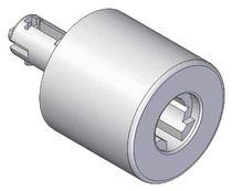 Bouton universel aluminium