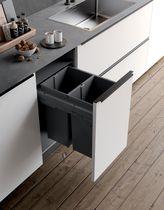 Poubelle suspendue grande capacité EVO Pour meuble de 400 mm