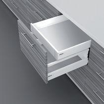 Attache façade gauche / droite Hauteur M à l'anglaise pour tiroir simple