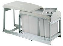 Poubelle coulissante milord 25 litres Pour meuble de 300 mm