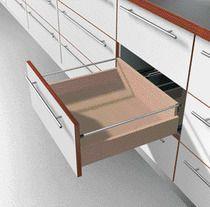 Kit tube longitudinal pour tiroir bois