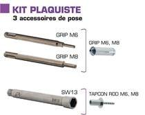 Kit accessoires plaquiste