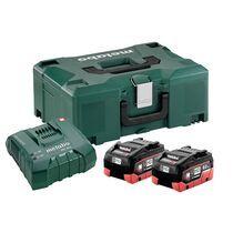 Pack 2 batteries + chargeur 18V 2 X 8 Ah