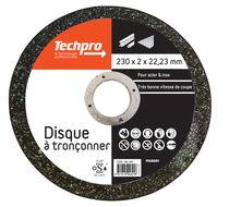 Disque à tronçonner acier/inox 230 plat