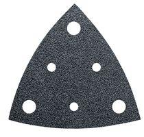 Abrasif triangulaire avec perforation