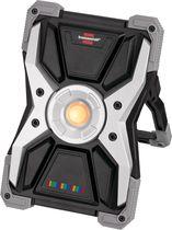 Projecteur LED portable rechargeable à variateur de luminosité