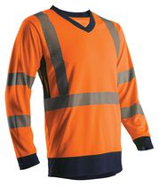 T-shirt HV manches longues Orange