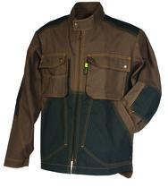 Blouson craft worker® marron / noir