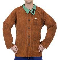 Veste de soudeur cuir haute qualité Lava Brown™