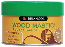 Wood mastic bi poudre rapide