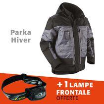 Lot 1 parka hiver 4886 + 1 lampe frontale offerte