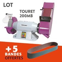 Lot touret tm200mb + 5 bandes offertes