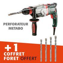 Lot perforateur Metabo + coffret foret offert