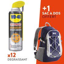 Lot 12 dégraissants + 1 sac de randonnée WD-40 offert