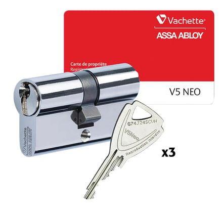 Cylindre de sûreté V5 NEO