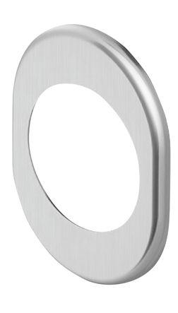 Rosace extérieure ovale