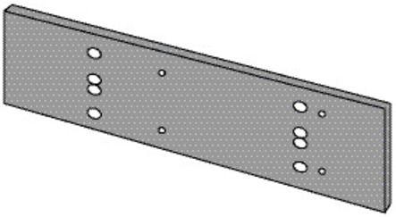 Plaque de montage pour TS 71 / TS 72