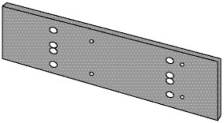 Plaque de montage pour TS 83
