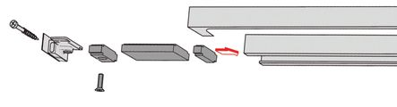Limiteur d'ouverture pour glissière G/N