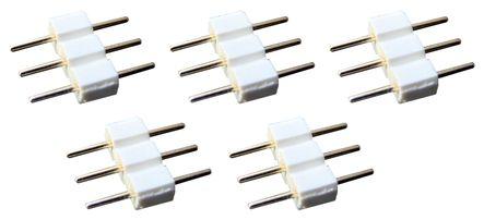 Ensemble de 5 connecteurs mâle-mâle