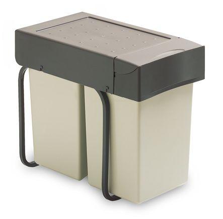 Poubelle coulissante 28 litres