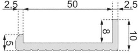Profil PVC rigide