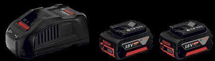 pack 2 batteries chargeur 18v 6ah foussier quincaillerie. Black Bedroom Furniture Sets. Home Design Ideas