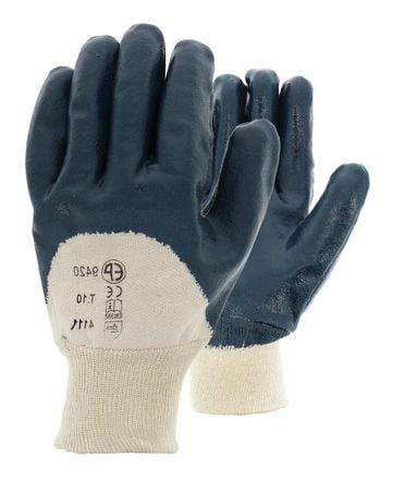 Gant nitrile bleu