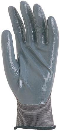 Gant polyamide tricote enduit nitrile