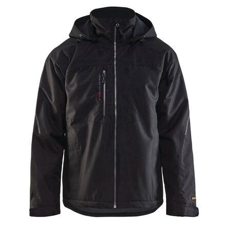 Lot 1 veste hardshell 4970 noir + 1 bonnet offert