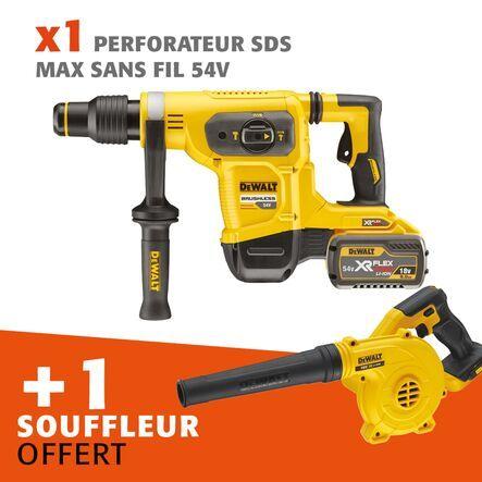 Lot perfo SDS-MAX 54 V + souffleur offert