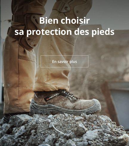 Bien choisir sa protection des pieds