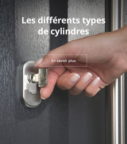 Différents types de cylindres