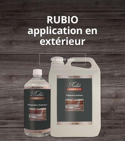 Rubio Processus d'application en extérieur
