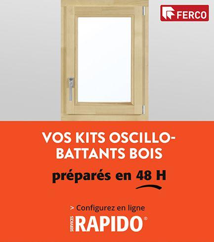 Rapido - Kit Oscillo-battants